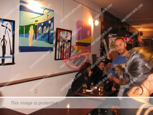 Exhibition at Pub French KWA – Paris 2009