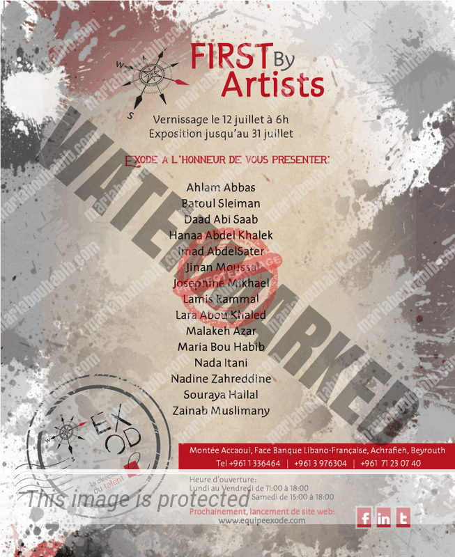 The exhibition FIRST By Artists