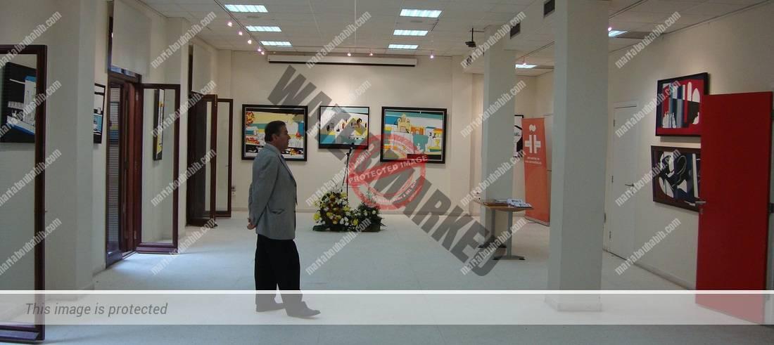 The exhibition at cervantes institute