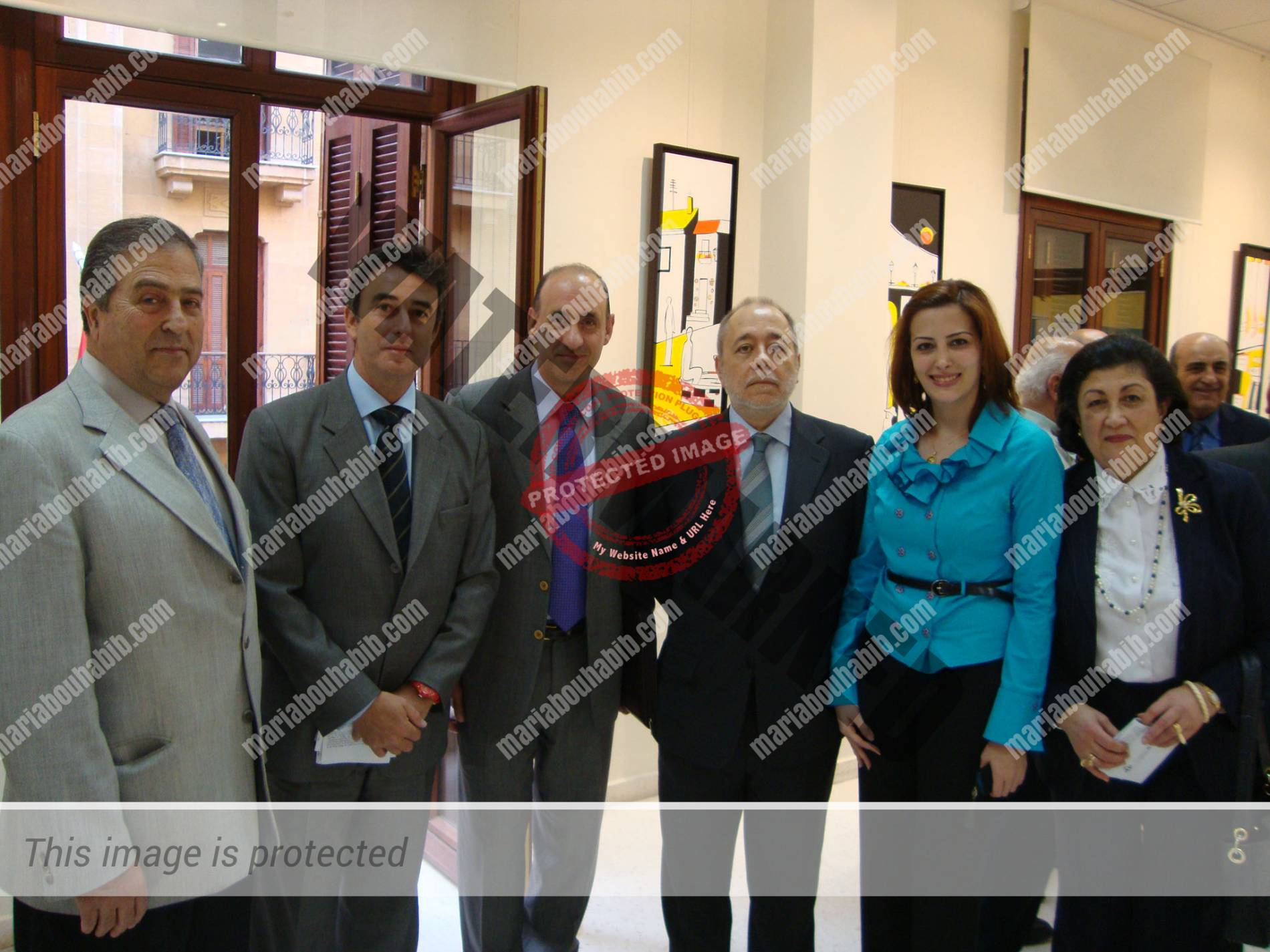 Second solo exhibition held by the spanish ambassador – 2011
