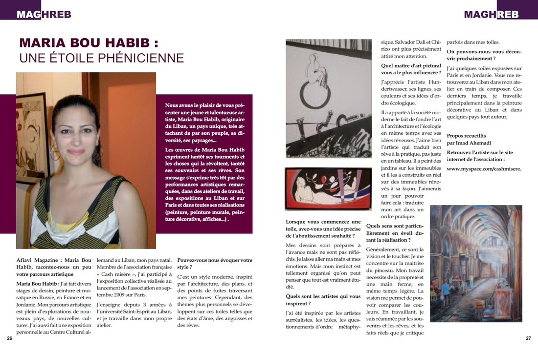 An article in Afiavi magazine